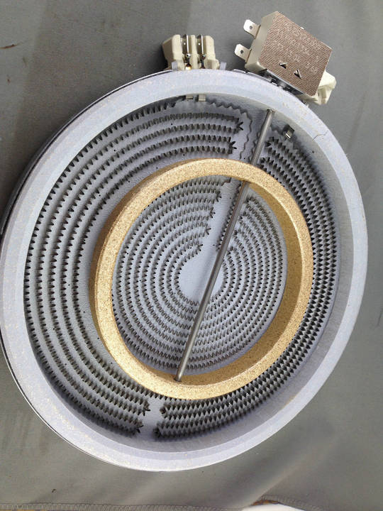 CERAMIC COOKTOP CERAN ELEMENT DUAL HEATER ELEMENT UNIVERSAL FOR MOST BRAND ,