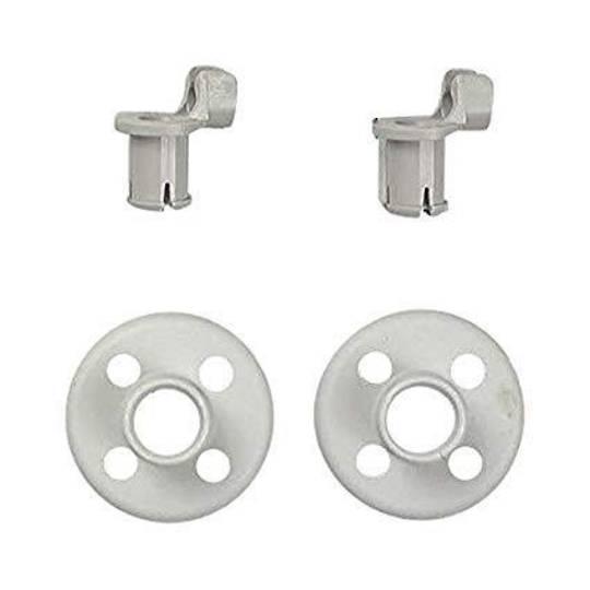 Bosch Dishwasher LOWER BASKET Wheel SMS, SPS, SPI, , and More Model Pack of 2