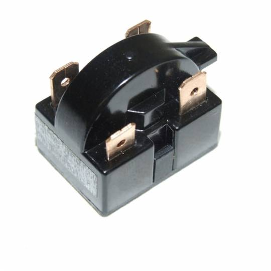 Fridge  freezer RELAY Starter  1/12 TO 1/2 HP BLACK,