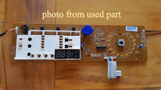 LG Washing Machine Display Assy WD14022D6, Display board before May 2015,