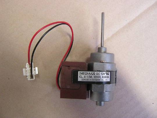 Smeg Fridge  section motor fan  Sr650XA, Sr640Xa, 04612AAA20, SR640XAKIT,