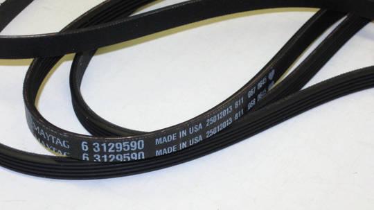 Whirlpool and Maytag dryer belt AWZ2103, AWZ2303, AWZ2413, AWZ3303, AWZ3413, AWZ110, AWZ121, AWZ129, AWZ135, AWZ139, AWZ122/3GD,