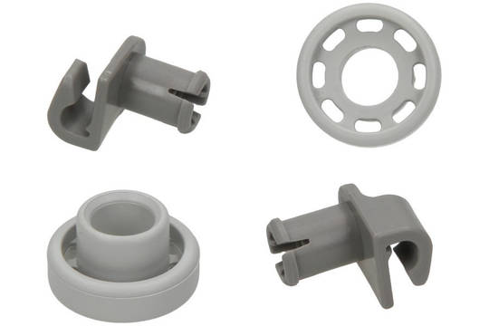 Bosch Dishwasher LOWER BASKET Wheel SMS, SPS, SPI, , and More Model Pack of 2