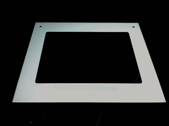 Fisher Paykel Oven Door Glass Outer External BI600E, bict600pe, WO600X  WO600BE  WO600E, Only White Available