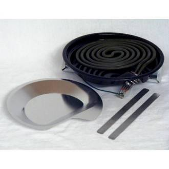 Elba freestanding Oven Top Element and bowl complete Large OR61S2CEWW2, OR61S4CEWW2, or61s8
