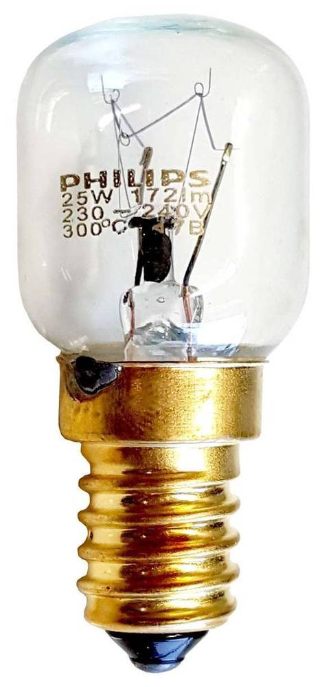 Oven light lamp bulb 25W E14 300C,