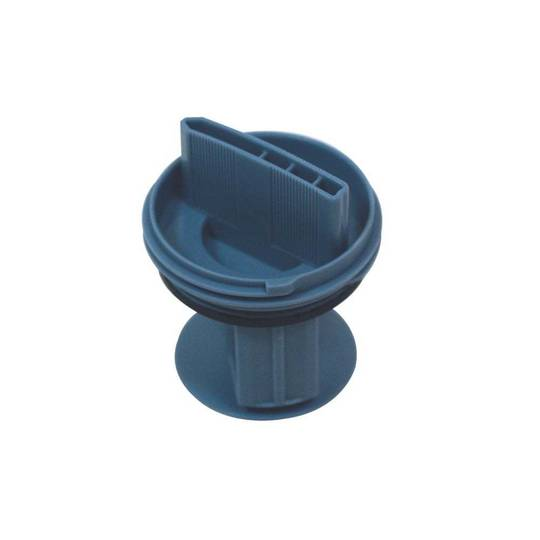 Bosch Washing Machine Drain pump filter cover WAS28461AU, WVH28420, WVH28421, WVH28460,  BLUE