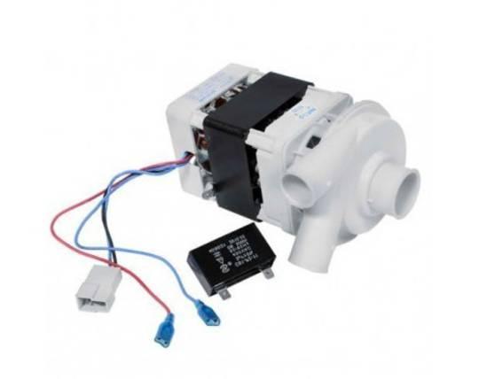 Omega DISHWASHER Wash PUMP DW400XA, DW501XA, DW501WA , Including Capacitor