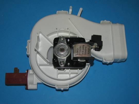 Asko Dishwasher Fan unit motor assy D5437, D5257 , D3127, d3122,