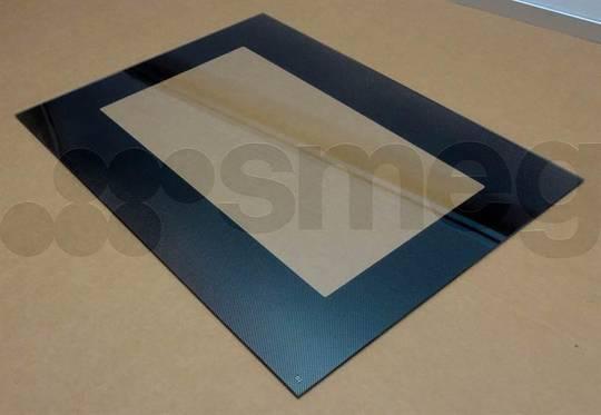 Smeg Oven INNER GLASS A5-5, A5-8,  OVEN SMALER SIDE,