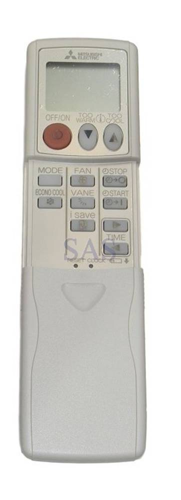Mitsubishi Aircon and Heat Pump Remote controller MSZ-GE42VAD,