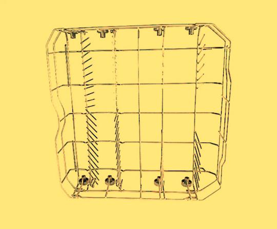 Nouveau Dishwasher Lower Basket ND60w, ND60ss.1, UBFSDW60, ND60ss,
