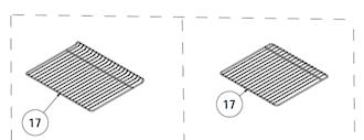 EVERDURE OMEGA OVEN WIRE RACK UFEE61, OBEG62, UFES61, afg101, obeg61, obeg63,