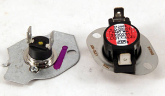 MAYTAG AND WHIRLPOOL DRYER THERMO CUT OFF SWITCH MDE18MNAGW0, MDE18PDAGW0,MDE22PDAGW0, MDE22PNAGW0,MDE25PDAGW0,MDE25PDAGW