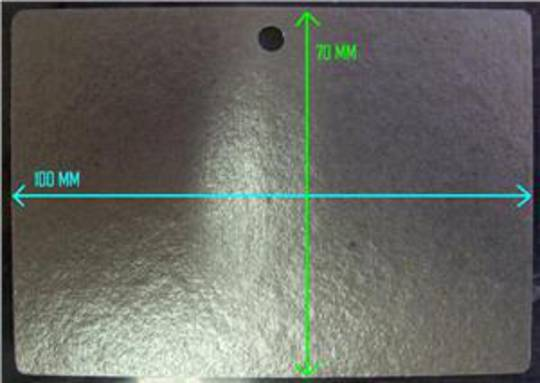 Smeg Microwave Wave protector or Wave Guide Cover SA985CX, 100mm x 70mm,