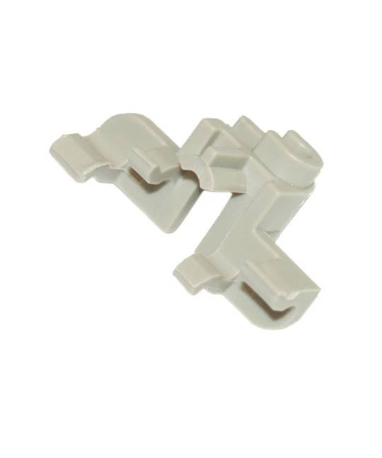 Haier Dishwasher Lower Basket clip right and left DW60CCW1, DW60CCX1, DW60CEX1, DW60CEW1, HDW14G2X, HDW14G2W, HDW15G3X