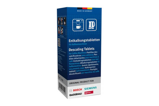 DESCALING TABLETS FOR COFFEE MAKER,