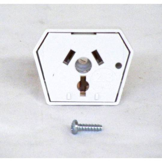 Westinghouse Simpson Stove Side power point Pin Socket 3U600W, 3U601W, 3U601HW, 3U602W, 3U603W, 3U604W, 3U605W, 3U606W, 3U607W,