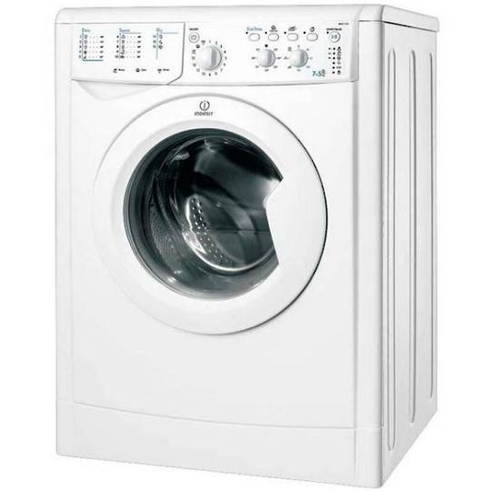 Indesit Washer/Dryer 7.5 KG Combination IWDC7125, Washer Dryer,