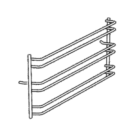 Simpson Westinghouse Oven side Rack Left Or Right Mercury small oven ,Neptune, Saturn, Columbo, Gemini, Polaris, Apollo, Alpha,