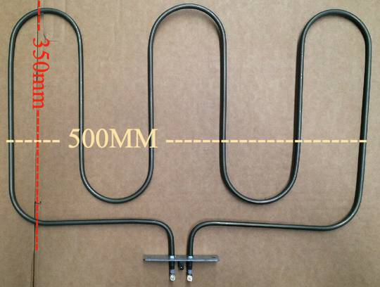 Baumatic and CLASSIQUE and other brand OVEN BAKE ELEMENT 1550w cl90ss, BK700ss, Bk900PSS,