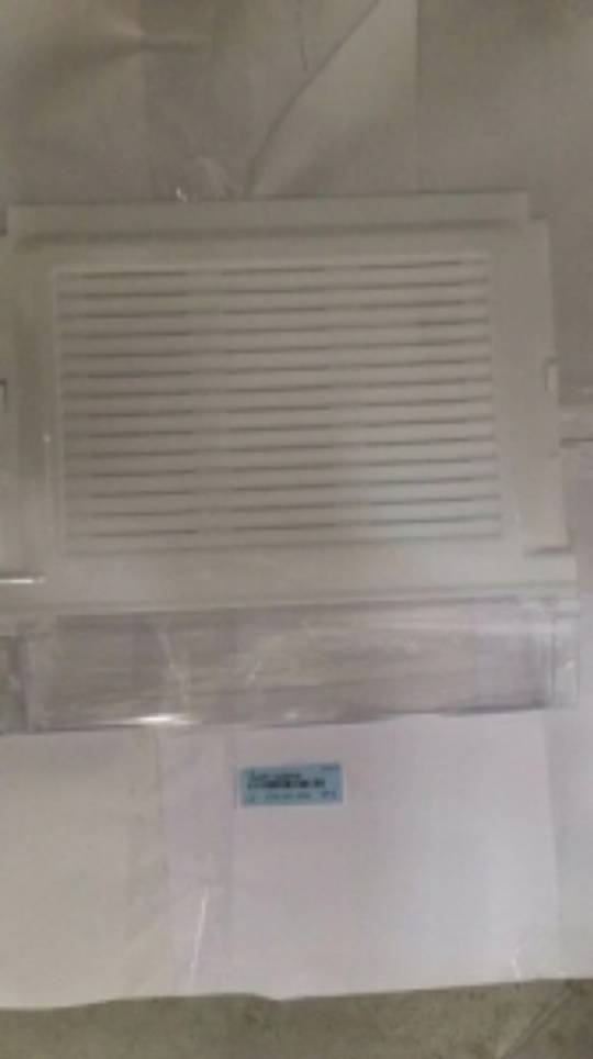 samsung fridge door Veggi Bin Shelf or cover low flip front  RS62K62B7SL/SA, SRS655NLS,