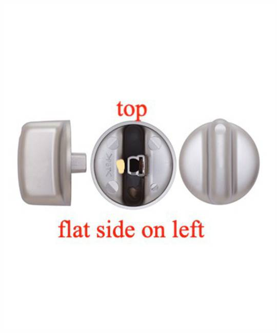 FISHER PAYKEL COOKTOP KNOB SILVER CT560C. CT5602F, CT2802, PRICE FOR 1 PIECE , 0391