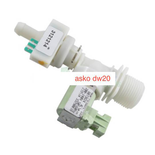 Asko Dishwasher DW20 series inlet valve twin