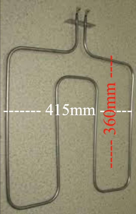 Beko Oven Bake element CSM87300, New version