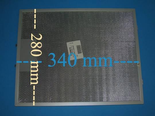 Asko Range Hood Aluminium Grease Filter CW4951S,
