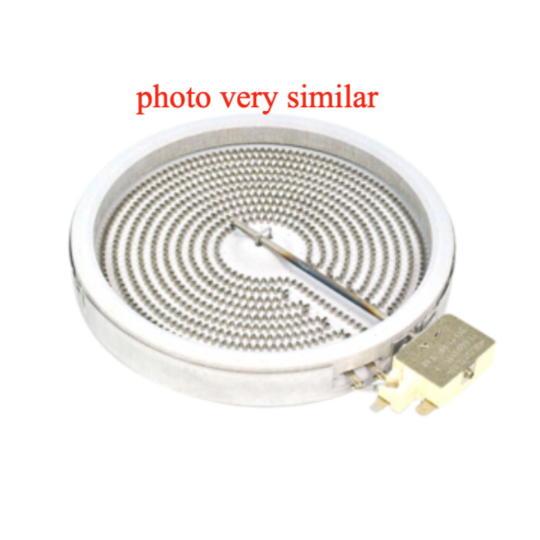 Universal Element for ceramic cook top 180mm inner or 200mm outer frame 1800w,