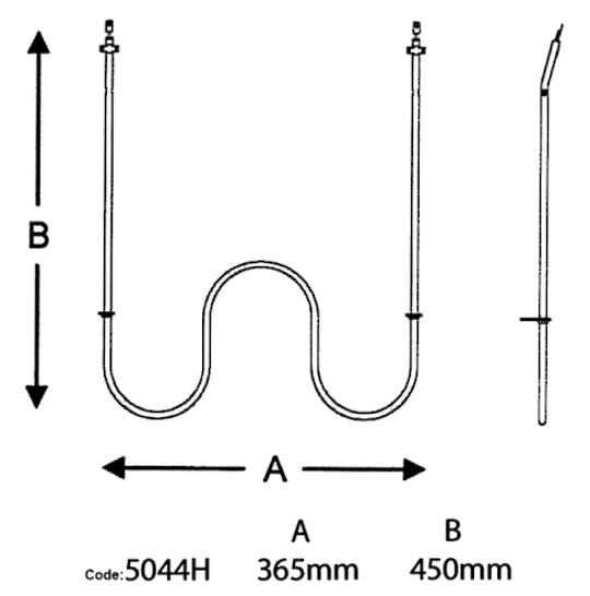 Fisher & Paykel Main Oven Element 2250w 5044h shacklock fridgidire oven bake element