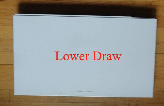 Fisher Paykel Dishdraw Front panel lower draw DD60DCW6, 80588-A, DD60SCW6, DD60SCT,  80711-A, DD60DCW6,