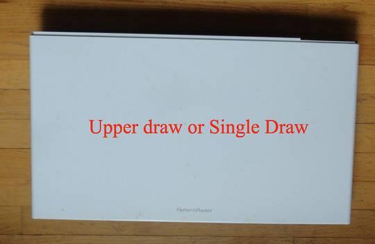 Fisher Paykel Dishdraw Front panel Upper draw DD60DCW6, 80588-A,DD60SCW6,DD60SCT, 80711-A,DD60DCW6,