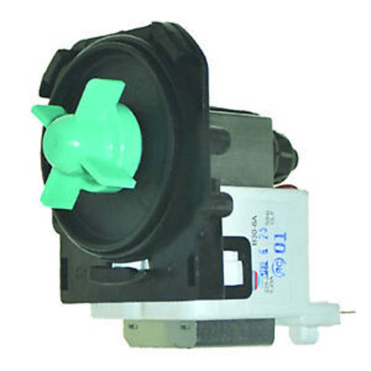 CLASSIQUE Dishwasher Drain Pump CLD60SS, FOR MODLE BEFORE 2010 , CLD12ss,