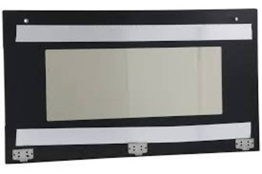SMEG OVEN OUTER DOOR GLASS FOR sa9066as Black,