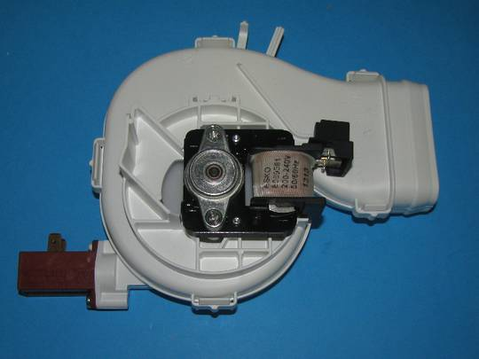 Asko Dishwasher Fan unit motor assy D5437, D5257 , D3127, d3122,