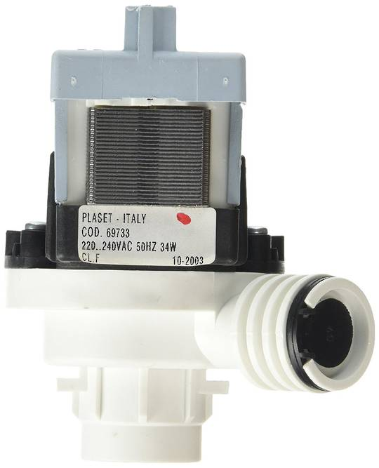 Smeg dishwasher Drain Pump PL941, PL941.1, PL941EB, PL941EB.1, PL942.1, PL942EB.1, PL944EB PL944EB.1 PL944NE PL944NE.1 PL944X
