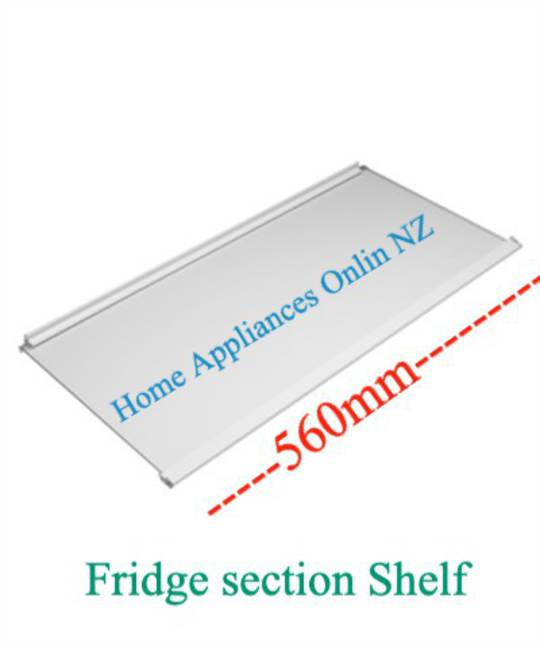 Elba Fisher Paykel fridge Glass shelf SILVER TRIM E450, E331T, E372B, E381T, E402B, E411T, C450, N395B, N369B, N325T, N405T, 362