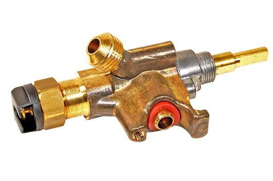 smeg freestanding oven gas tap BURNER TAP D.0,45 (GREEN) cs19.1, cs19a, cs19b, cs19v,