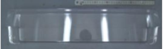 samsung fridge door Bottle shelf SRL455DLS, SRL449EW, SRL454DSP, SRL458ELS, SRl453dw, srl445bls, 7161a