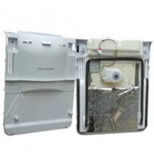 Samsung fridge side evaporator fan and cover assy SRS594HNSS, SRS607HDSS, SRS610HDSS,