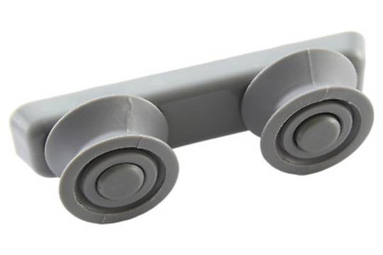 Omega Everdure Upper Basket Wheels Side rail rollers ODW517WB, ODW517XB, DWF146,