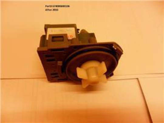 Classique dishwasher drain pump CLD14, CLD62SS, CLD60SS, CLD60W, CLD62W, MADE AFTER 2010