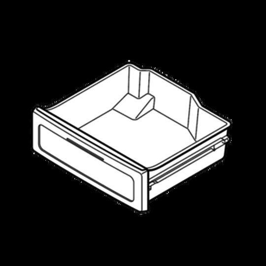 Electrolux fridge top right side section draw EQE6007SA-NAU, 934000002,