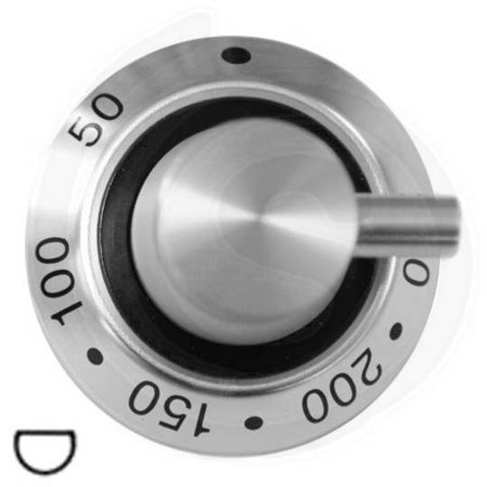 ILVE OVEN THERMOSTAT KNOB MAJESTIC TECHNO SERIES,