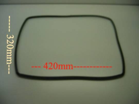 Smeg Oven door seal gasket GASKET WALL OVEN 4 SIDES SNZ360SS, SNZ360W, SNZ380SS, SNZ380W, SNZ60MFSS, 0519