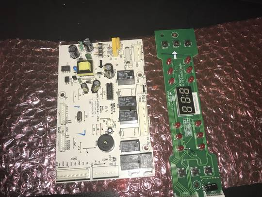 Omega Dishwasher PCB CONTROL BOARD CONTROL PANEL AND DISPLAY ODW507TWB, ODW507TXB,