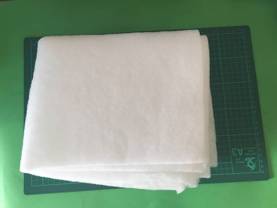 Universal Rangehood Grease Filter fluffy wooly Material 47cm x 57cm,