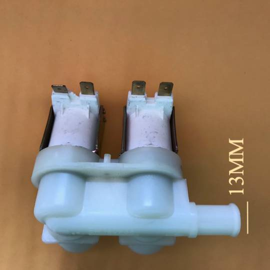 Maytag Whirlpool washing machine inlet valve Universal J006a type 2 The outlet suits 13mm hose.
